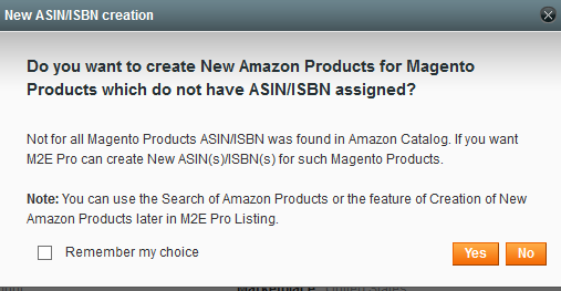 Complete Products for new ASIN/ISBN Creation - Amazon Integration